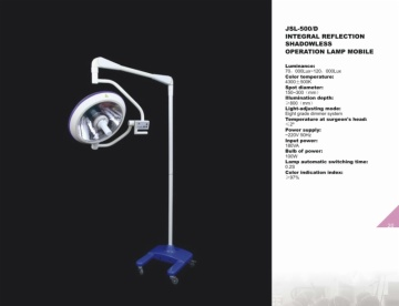 Integral Reflection Shadowless Operation Lamp Mobile