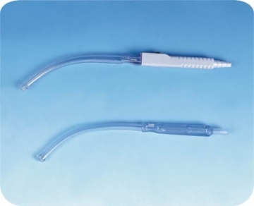 Yankauer suction tip & connection cannula