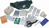 First aid kit in deluxe waist bag